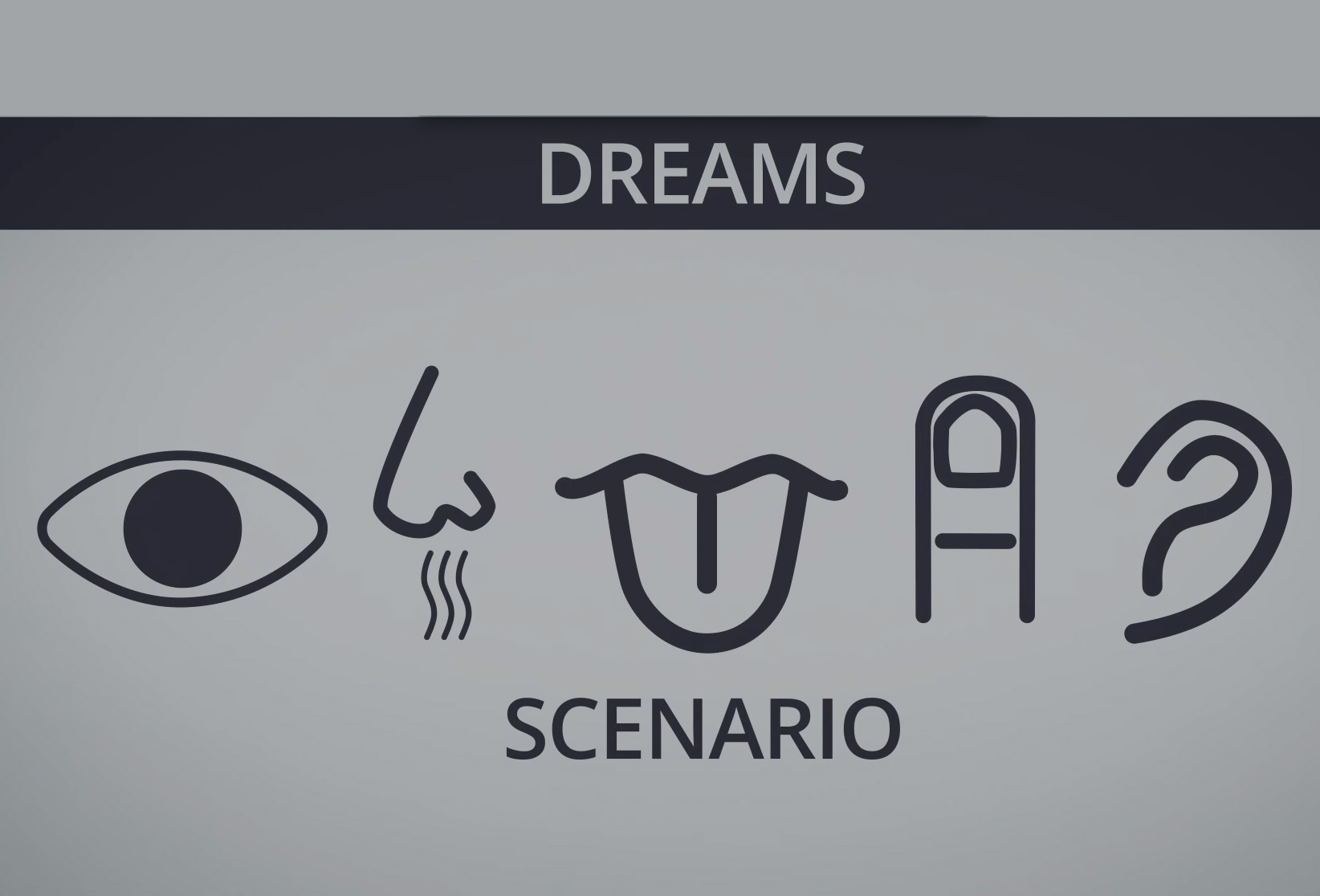 How Do Blind/Deaf People Dream?